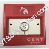 XENS-817	Gent Conventional Key Operated Manual Call Point, N/O, Flush