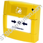 Hochiki ESP Call Point, Yellow, Flush