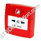 HCP-E(DPS)-SCI	Hochiki ESP Call Point, Red c/w Loop Isolator, Flush - DPS
