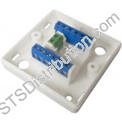 JB720/WH CQR 8-Way Junction Box, White