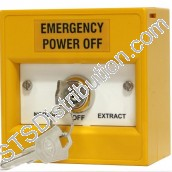 K30SYS-11	KAC 3-Position Keyswitch, Key Removable, Yellow, NO FUNCTION MARKING