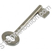 KEYPAM CQR PA Button Key, Stainless Steel