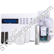 KIT-0004 Ricochet Self Contained Kit with Sounder - 48-W LIVE Panel, 3 x PW-W, Impaq Contact-W, 2 x SmartKey, Odyssey X-W Backplate
