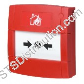 MCP1B-R470FG-01 KAC Red Call Point, 2-Wire, Break Glass Element, Flush