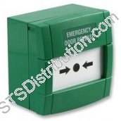 MCP3A-G000SG-12 KAC Green Emergency Door Release, Break Glass Element