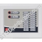 NC910S 800 Series 10 Zone Master Call Controller c/w 300mA PSU, Surface