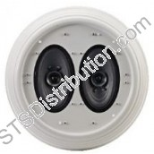 PC-245AB-EB TOA - 2 x 6W A/B Wiring Flush-Mount Ceiling Speaker, BS5839 / EN54-24