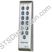 PROFIL100EINT CDVI Vandal Resistant Narrow Keypad with Remote Electronics, 100 Users, Backlit, 2 Relays, Surface