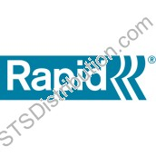 Rapid 28/10 Staples, White (Box of 5000)