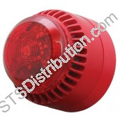 ROLPSB/RL/R Roshni/Solista Sounder/LED Beacon, Red - requires base