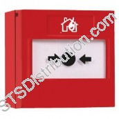RP-RS-05 ReSet Sav-Wire Call Point, Red, Flush/Surface - Series 05