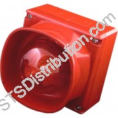RSM-WSB/W(RED) Firewave Wall Sounder Beacon, Red, Weatherproof