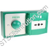 RTE-DBB CDVI Double Back Box, Green for Exit Device Combination