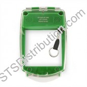 SGE-F-G	Waterproof Smart+Guard Call Point Cover for Flush Call Points, Green