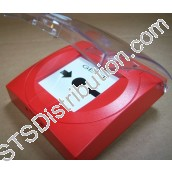S4-34845 Vigilon Manual Call Point with Resettable Element & Protective Cover - requires back box