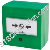 SA5900-906APO SOTERIA Manual Call Point with Isolator, Green