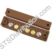 SC517/BR CQR 1 Reed, 5 Terminal Contact, Surface, Brown (Grade 1)
