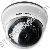 Securix 420TVL Indoor Dome IR Camera, 3.6mm Lens, 10M