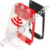 SGE-FS-R	Waterproof Smart+Guard Call Point Cover for Flush Call Points c/w Integral Sounder, Red