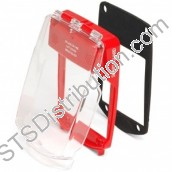 SGE-F-R	Waterproof Smart+Guard Call Point Cover for Flush Call Points, Red