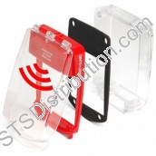 SGE-SS-R	Waterproof Smart+Guard Call Point Cover for Surface Call Points c/w Integral Sounder, Red