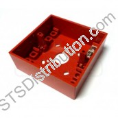 sr KAC Surface Back Box, Red