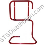 STAR02JSP Double Tubular Stand, Red