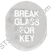 STI6725 Small Key Box Replacement Printed Glass