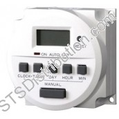 TH827-24 CDVI Timer, 24 Hr, 7-Day, 24V AC/DC