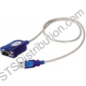 U187 Kentec USB to RS 232 Serial Converter for Software Download Lead