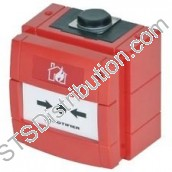 WCP1A-R470 KAC Red Weatherproof Call Point, 470Ω Resistor, Break Glass Element