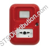 STI-AP-3-R-A	Alert Point (Red) with House / Flame Logo & Beacon