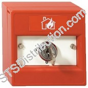 K20SRS-01 KAC 2-Position Keyswitch, Key Removable, Red, FIRE