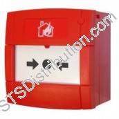 XENS-801	Gent Conventional Manual Call Point, Resettable Element, Changeover Contacts, Surface