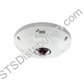 DC-Y1513 DirectIP Indoor 5MP Fisheye 360 Degree Camera, 30IPS, 1.55mm Lens, MicroSD Card Slot